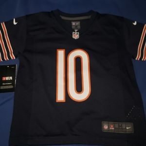 Chicago Bears Mitchell Trubisky Nike Game Jersey